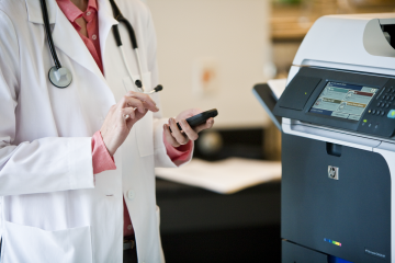 managed print for healthcare
